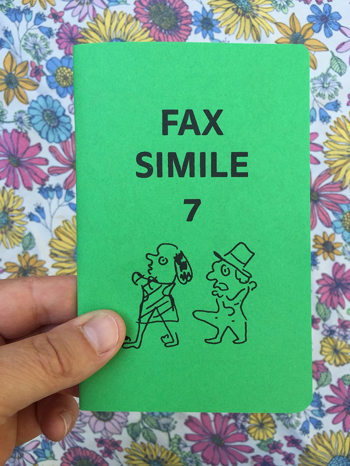 Image for fax simile number 7 48 pages risograph order at
