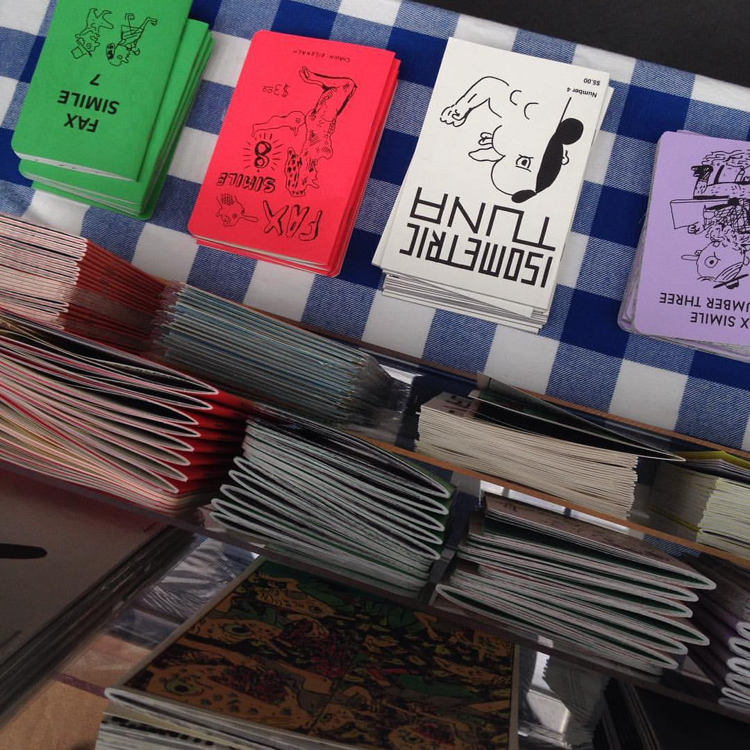 Image for buy zines table 216 sfzinefest today gg park