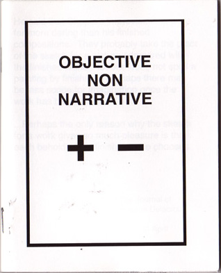 Objective Non Narrative October 2008